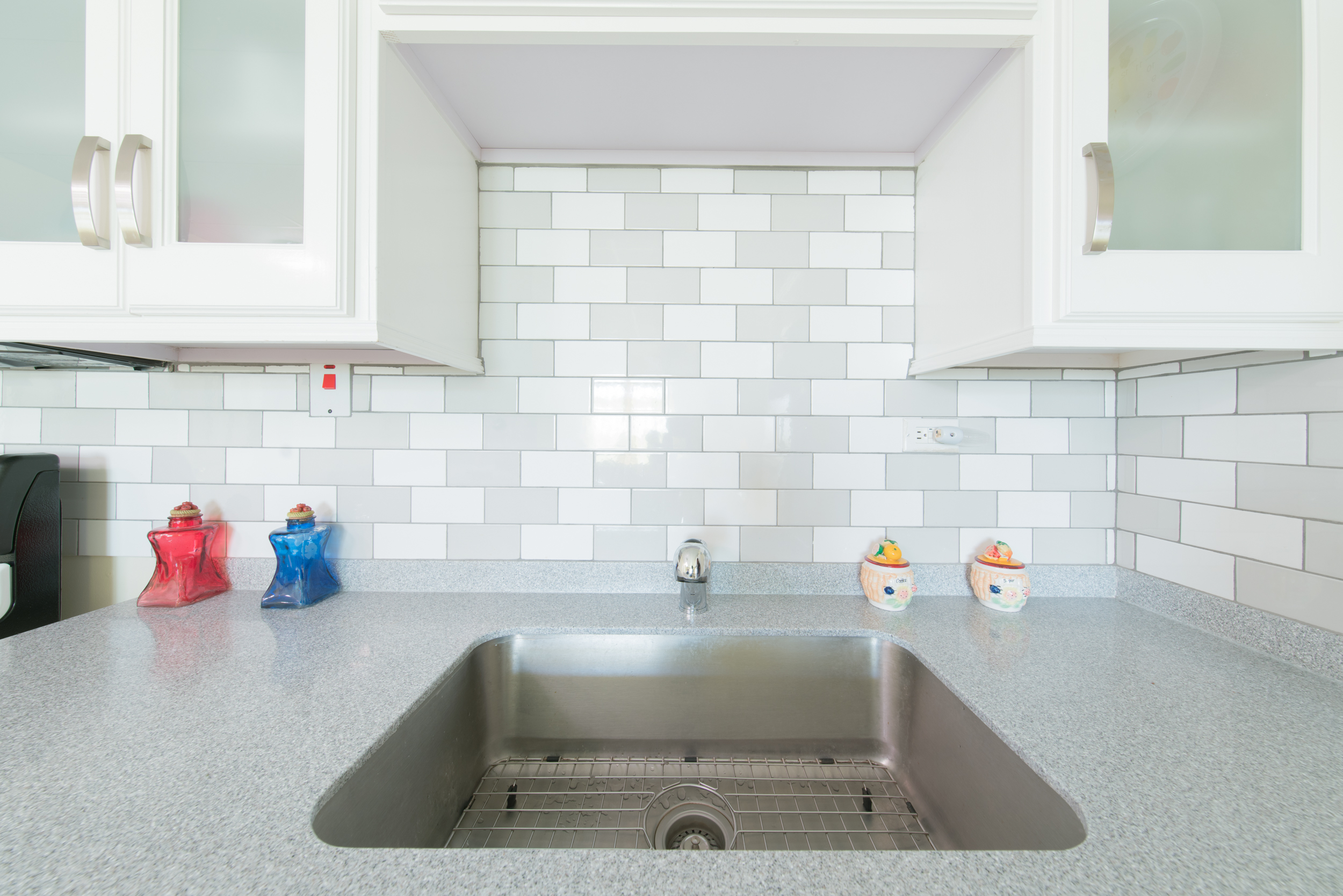 Wall Units Countertop and Sink