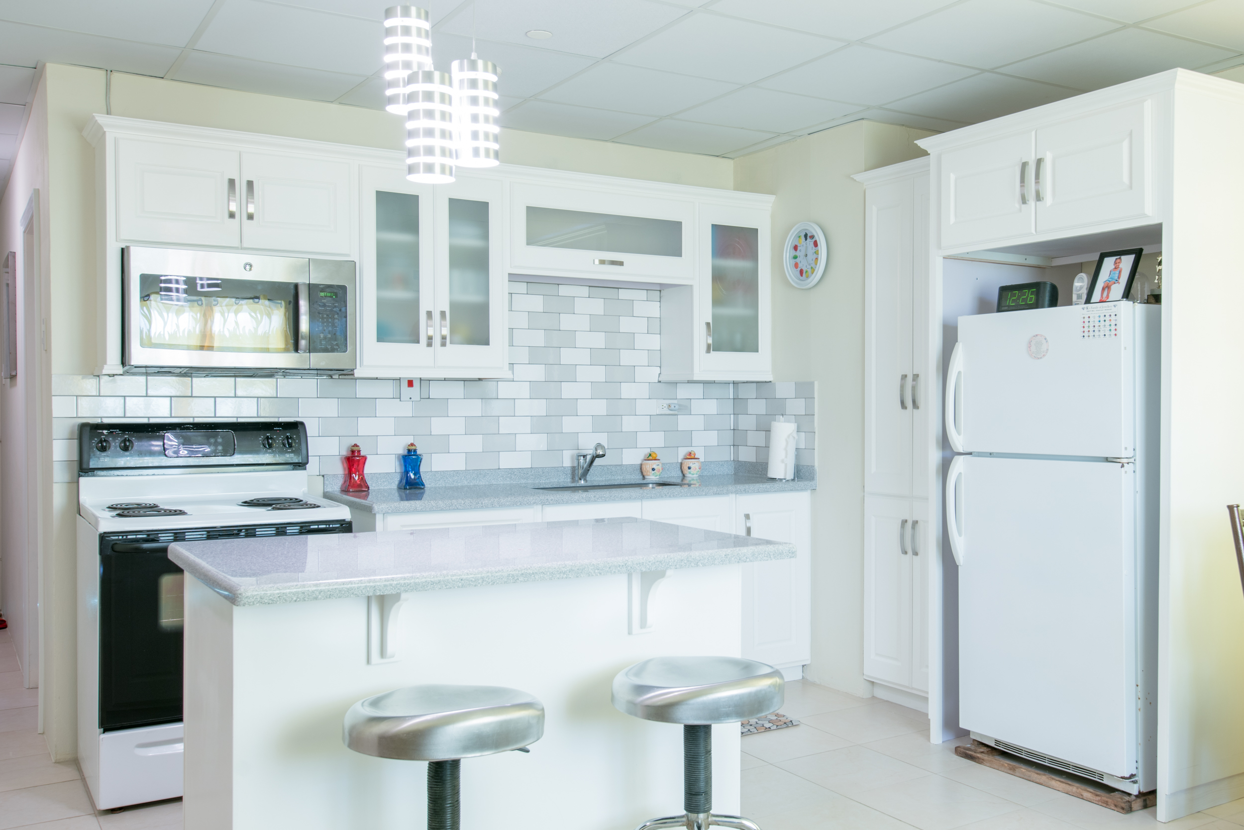 White Danville Kitchen
