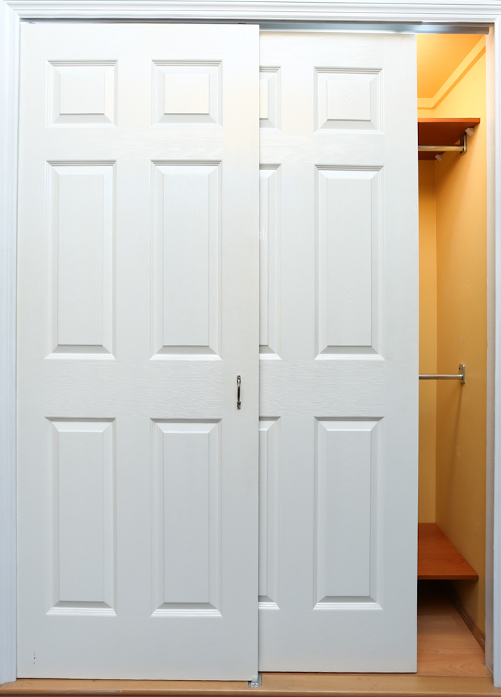 Victoria semi solid flush door sliding pair for Solid flush door
