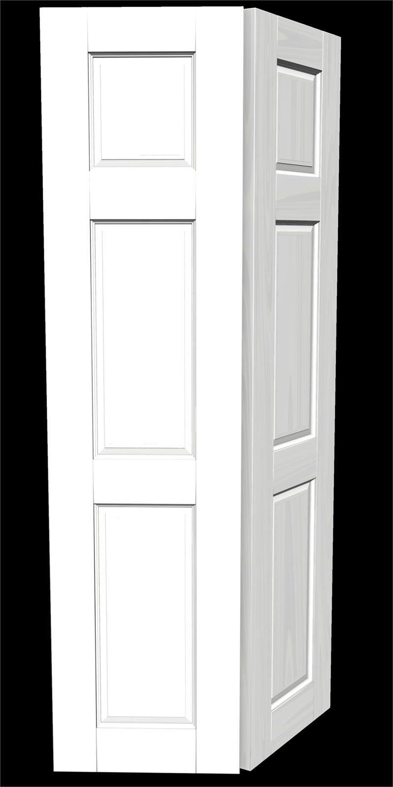 Victoria semi solid flush door bi fold pair for Solid flush door