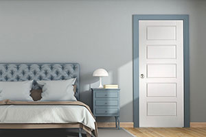 Camden 5 Panel, Semi-solid Core Door